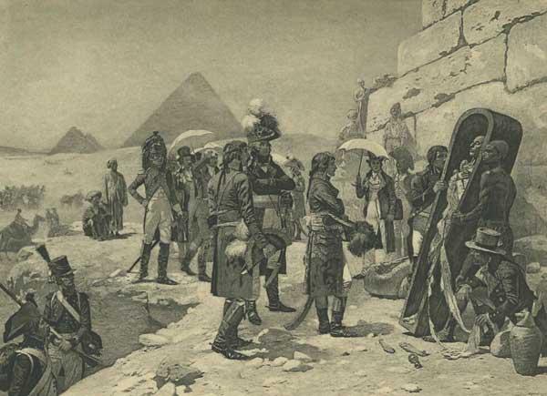 9b Napoleons apskata mumiju