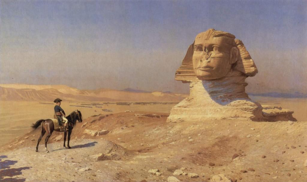 9d Napoleons un Sfinksa