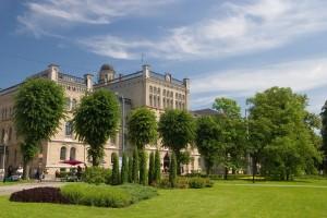 Latvijas Universitātes galvenā ēka. Foto: T. Grīnbergs