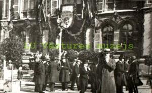 Latvijas Universitāte atklāšanas dienā. 1919. gada 28. septembris